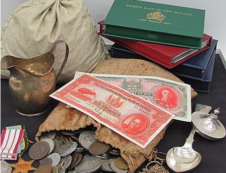 coins and collectables in Auckland
