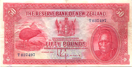 the reserve bank of newzeland