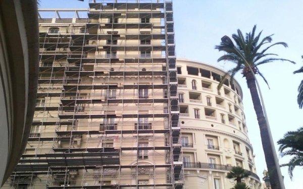 impalcature edifici storici
