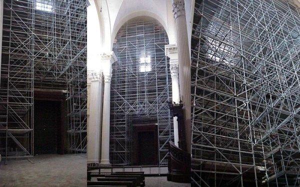 impalcature Chiesa San Salvatore