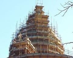 ponteggio edifici storici