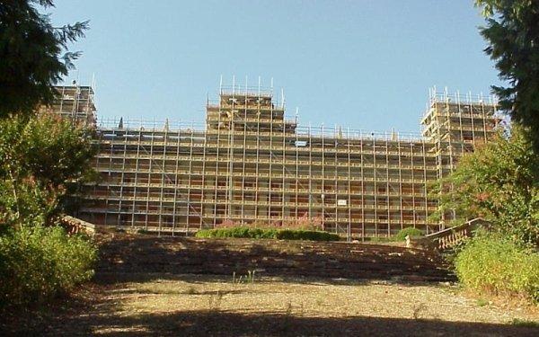 impalcatura Palazzo Hercolani