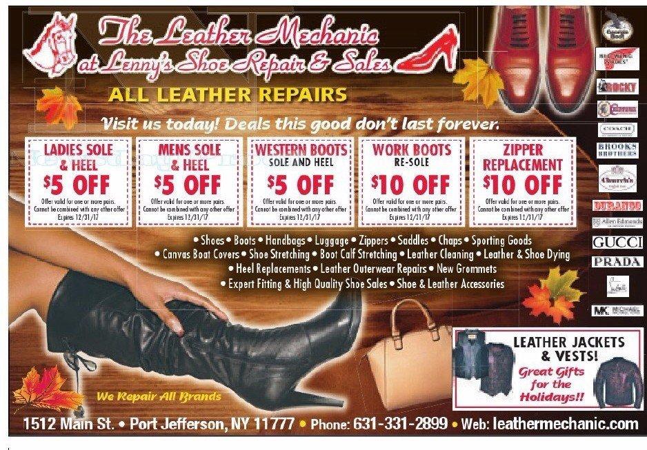 Leather Repair Shop Long Island