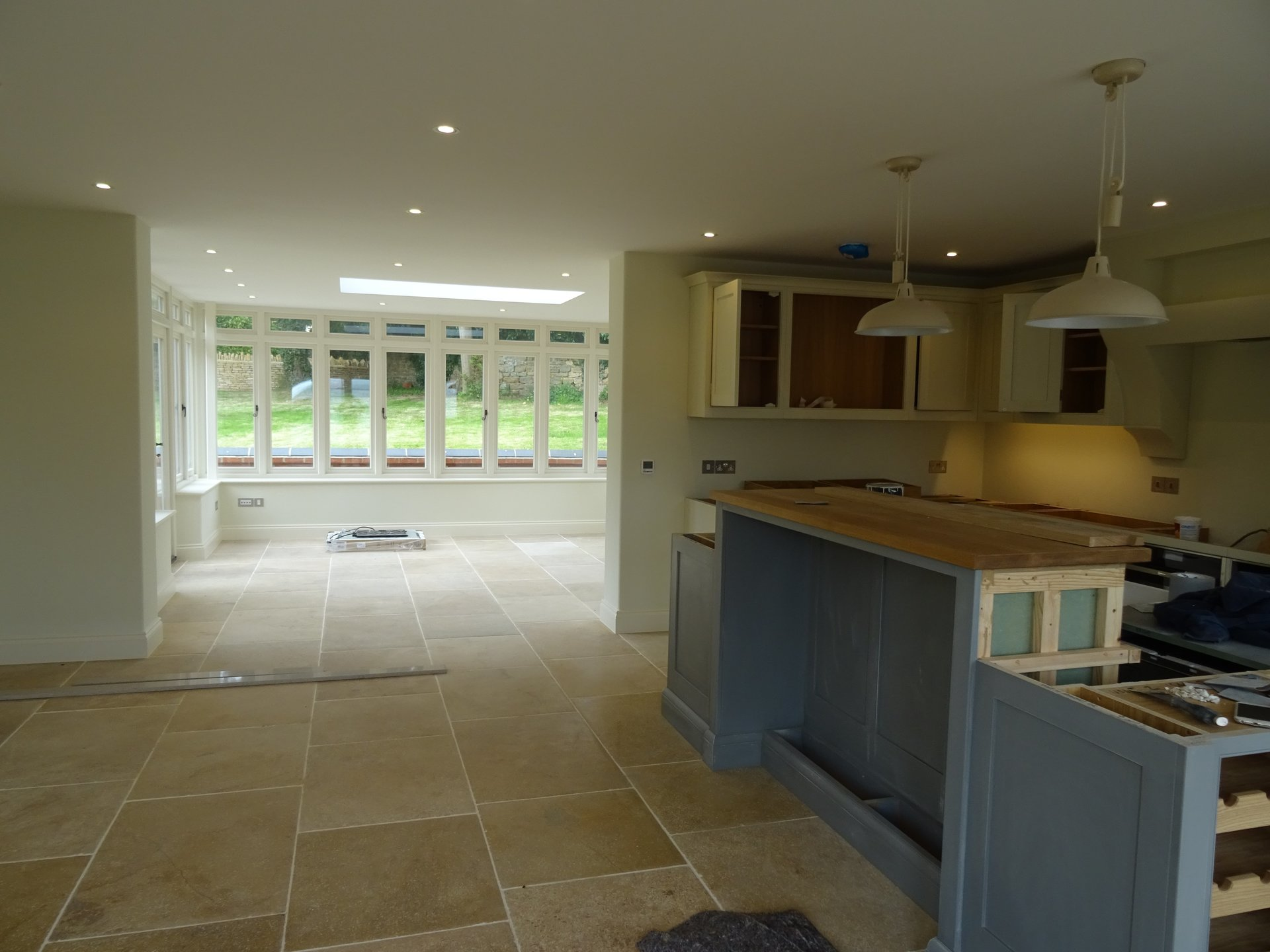 ventilated kitchen