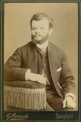 foto d`epoca del fondatore di Prato S.r.l