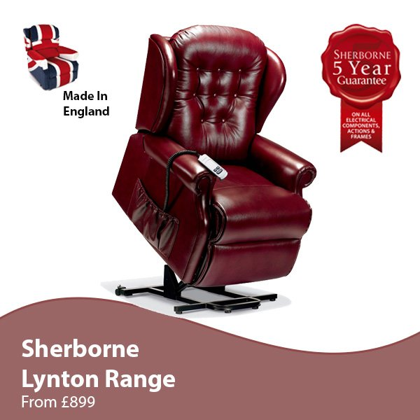 Sherborne Lynton Riser Recliner Chair  sc 1 st  Armchairs in Shipley by Hamiltons Furniture Centre & Riser Recliner Chairs Bradford Leeds. islam-shia.org