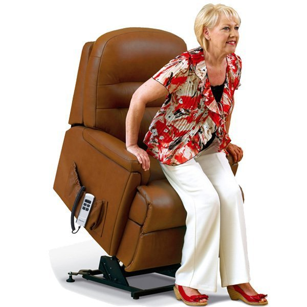 Rising recliner chairs