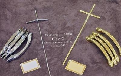 crocifissi in argento e oro