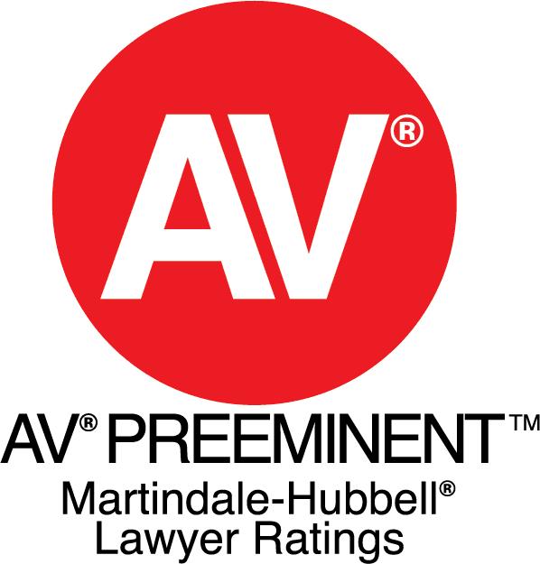 AV Preeminent Martindale-Hubbell Lawyer Ratings logo