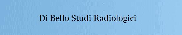 DI BELLO STUDIO RADIOLOGICi - logo