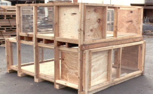 Some of our wooden crates in Sydney