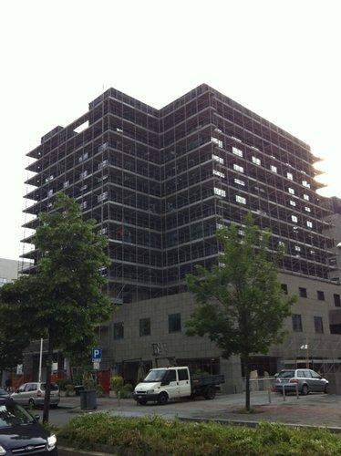 nuova costruzione di un edificio