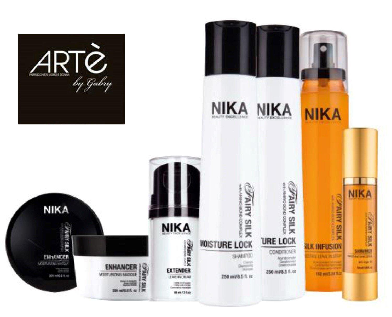 Bottiglie di prodotti per capelli