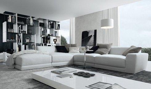 divano con chaise longue