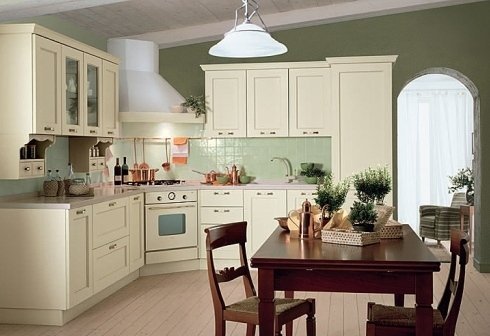 cucina con kappa a vista