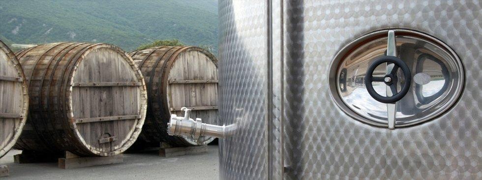 Cisterne per vino