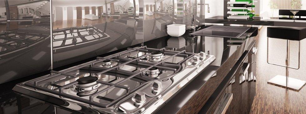 Cucina in acciaio