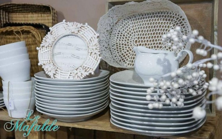 Servizio da pranzo in ceramica