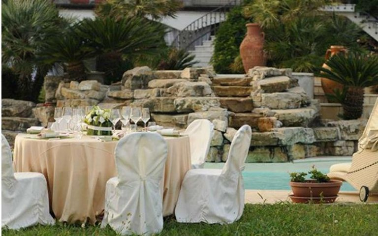Allestimento per matrimonio