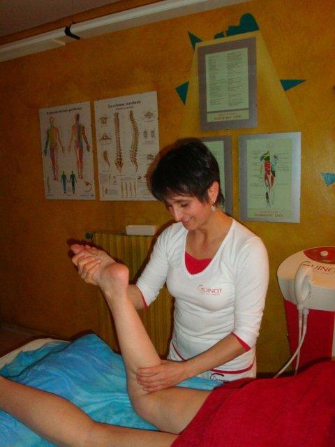 massaggi per gambe