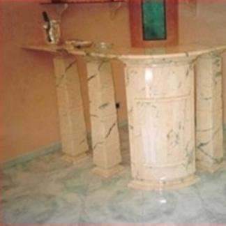 Piano Bar in marmo