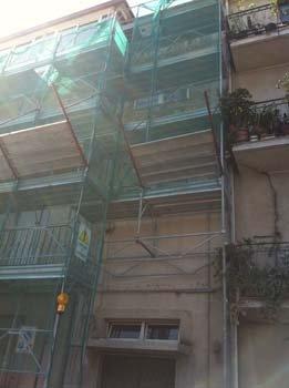 ponteggi per edilizia chiaro costruzioni a Reggio Calabria