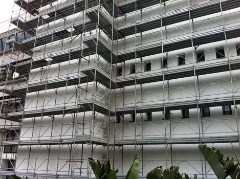 ponteggi per edilizia a Reggio Calabria