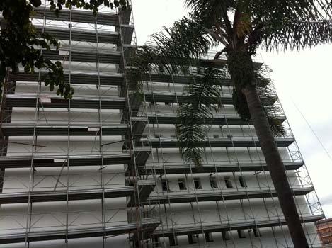 ponteggi Chiaro costruzioni a Reggio Calabria