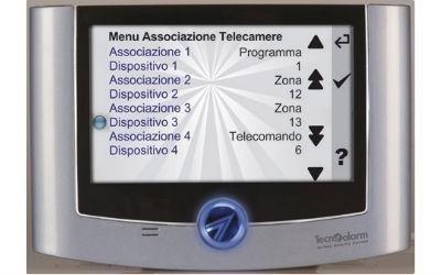 touchscreen allarme casa