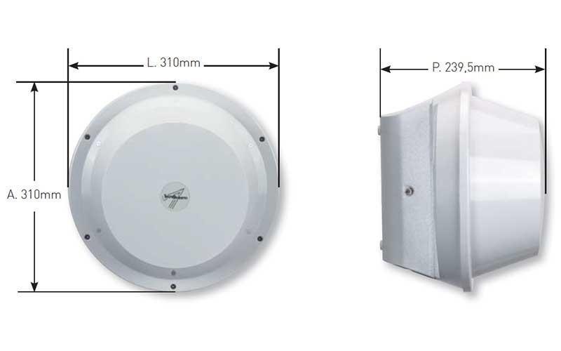 Microonde per esterni
