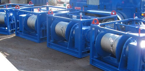 Electric winches for hire