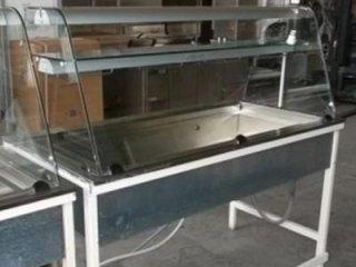 vetrina esposizione calda bagnomaria