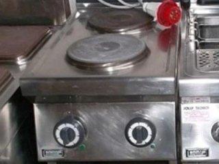 cucina elettrica due piastre