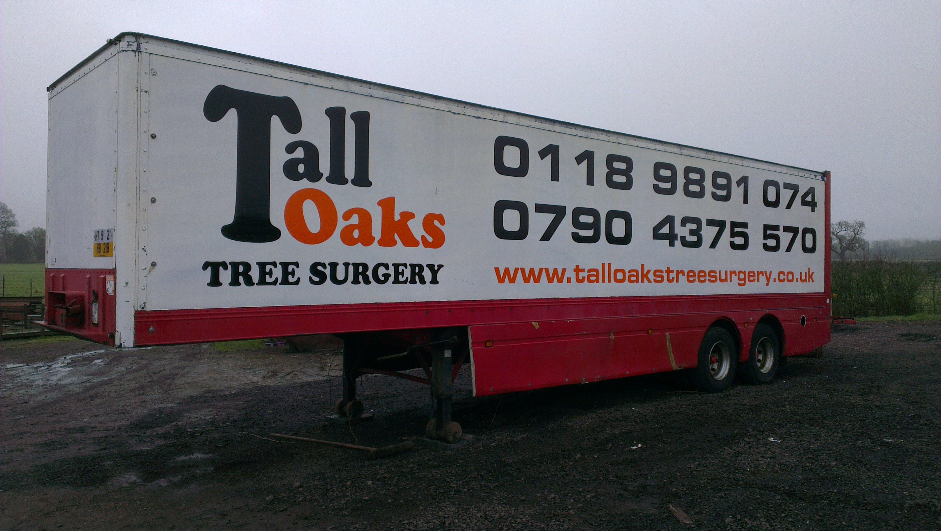 Tall Oaks tree surgery board
