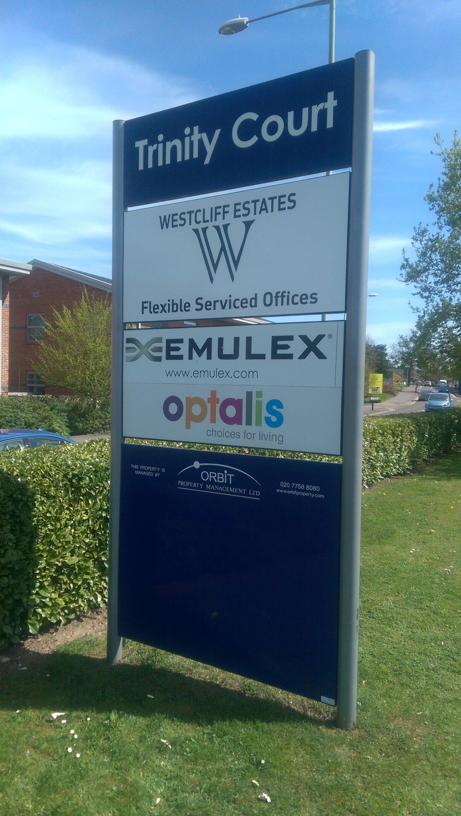 Westcliff Estates exterior sign