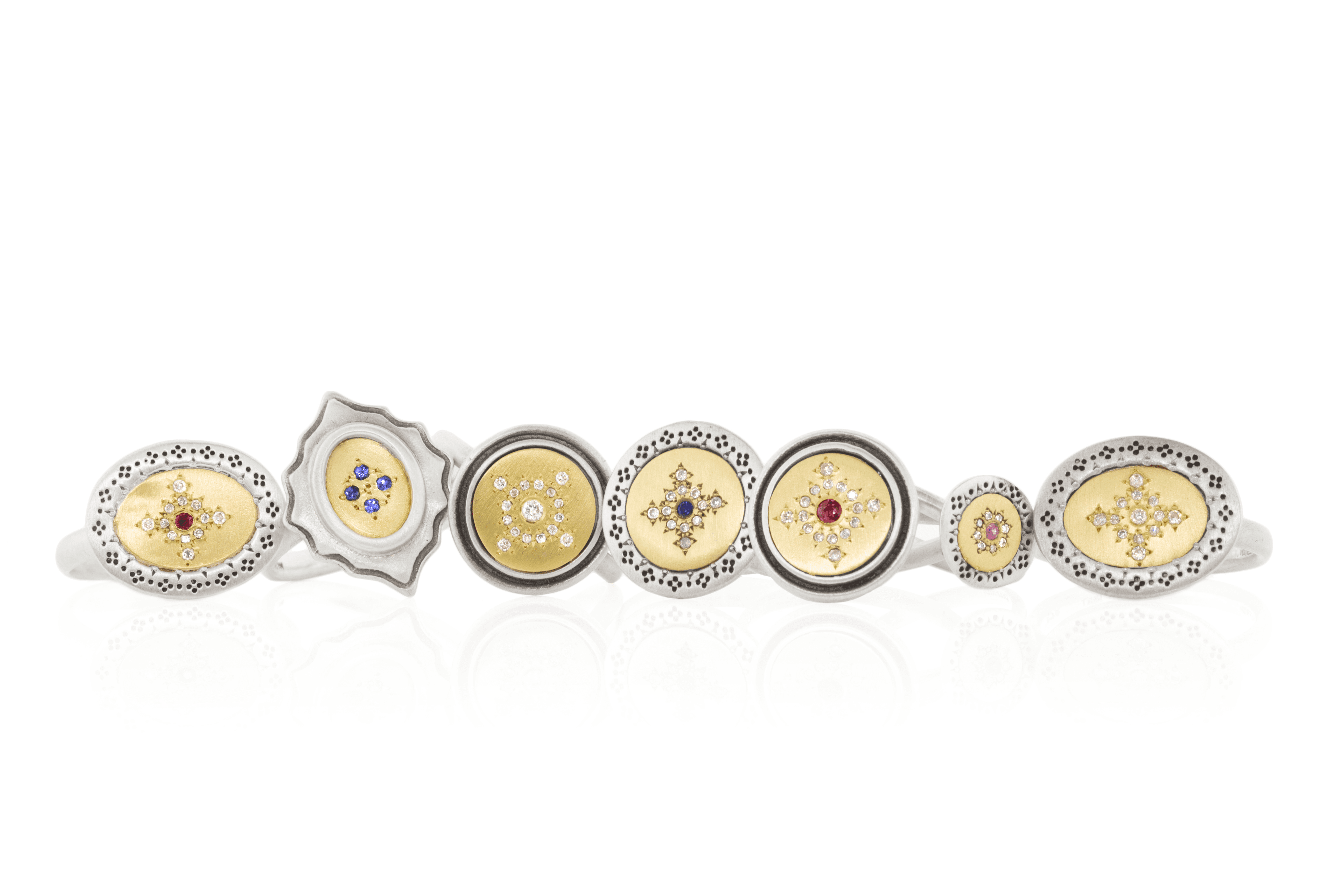 Rings with Diamonds - Adel Chefridi - Mansoor Jewelers