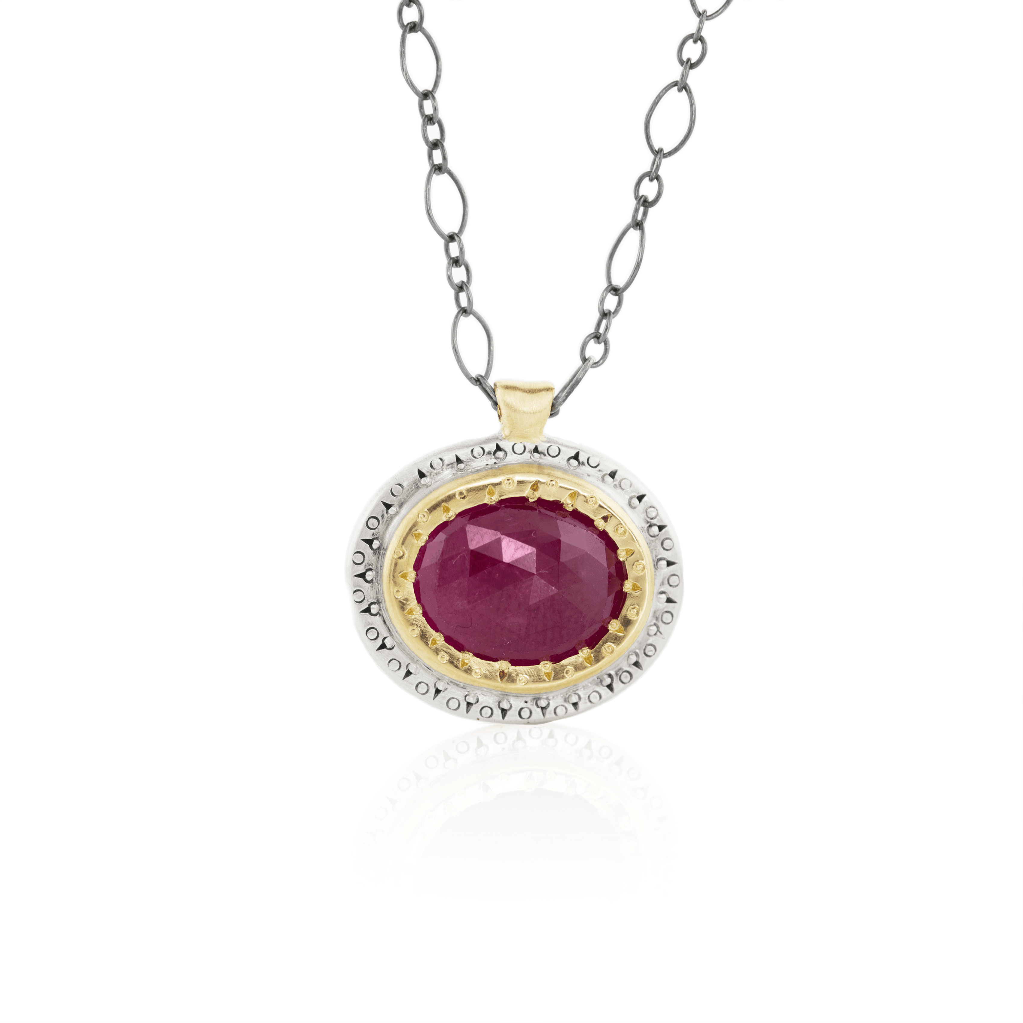 Ruby Necklace - Adel Chefridi - Mansoor Jewelers