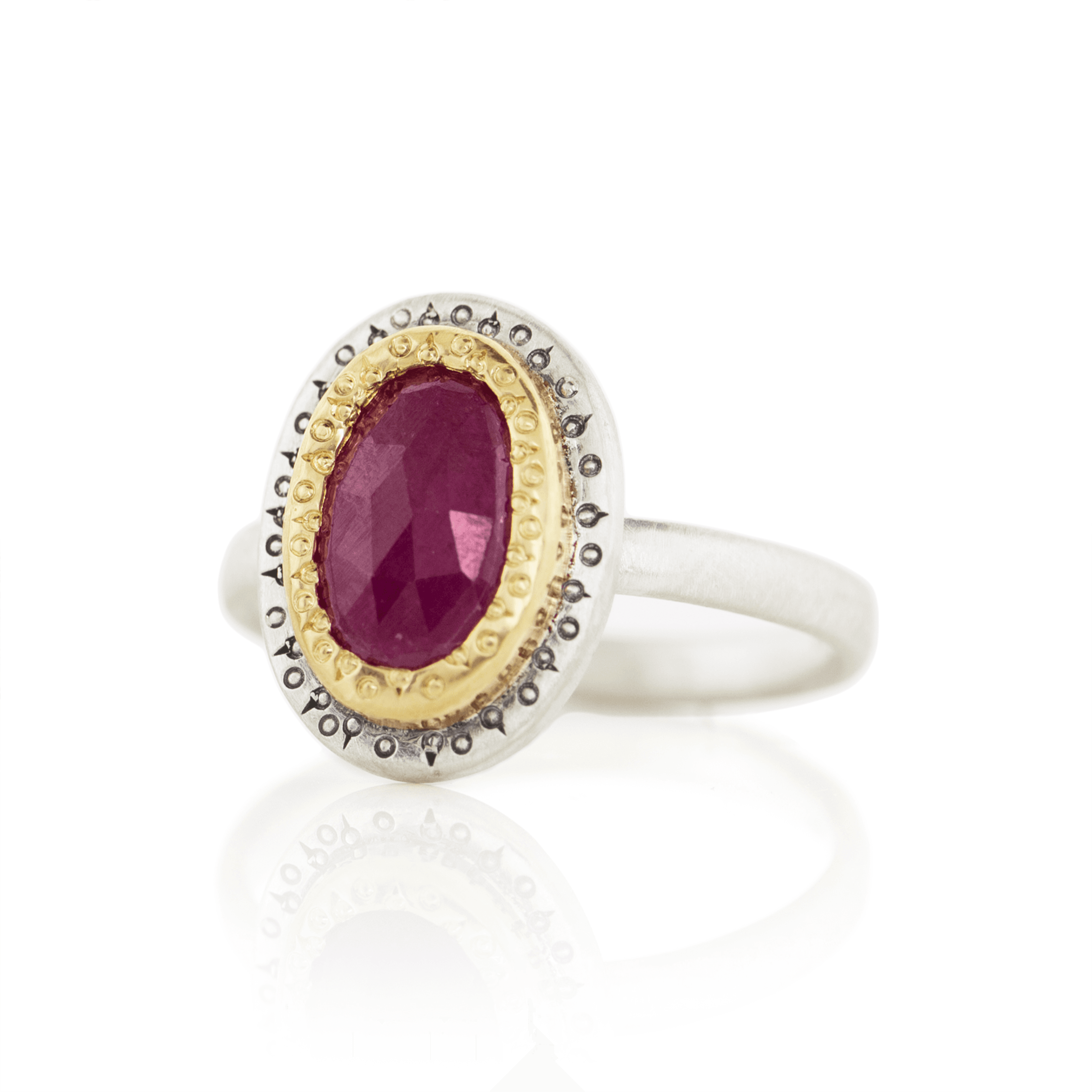 Ruby Ring - Adel Chefridi - Mansoor Jewelers