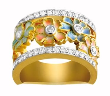 Masriera_Gold-Ring_Diamonds_MansoorFineJewelery_PaloAlto