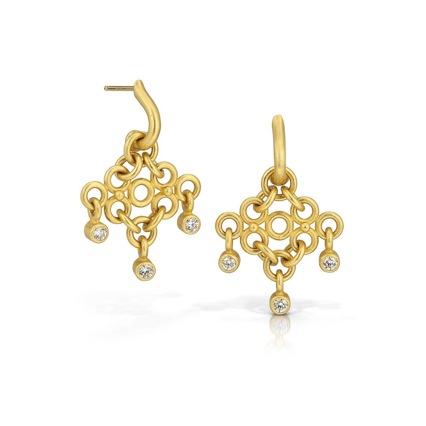 Chandelier Earrings - Betesh - Mansoor Jewelers