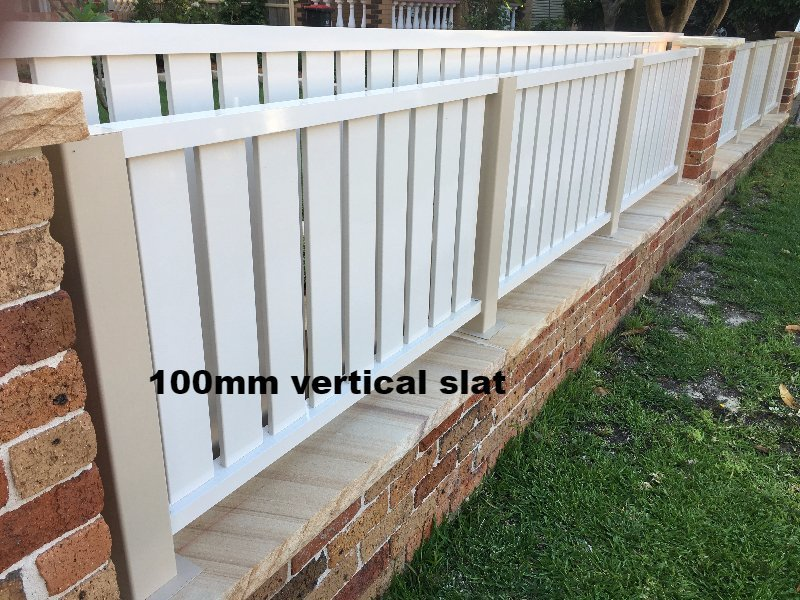 100mm vertical slat