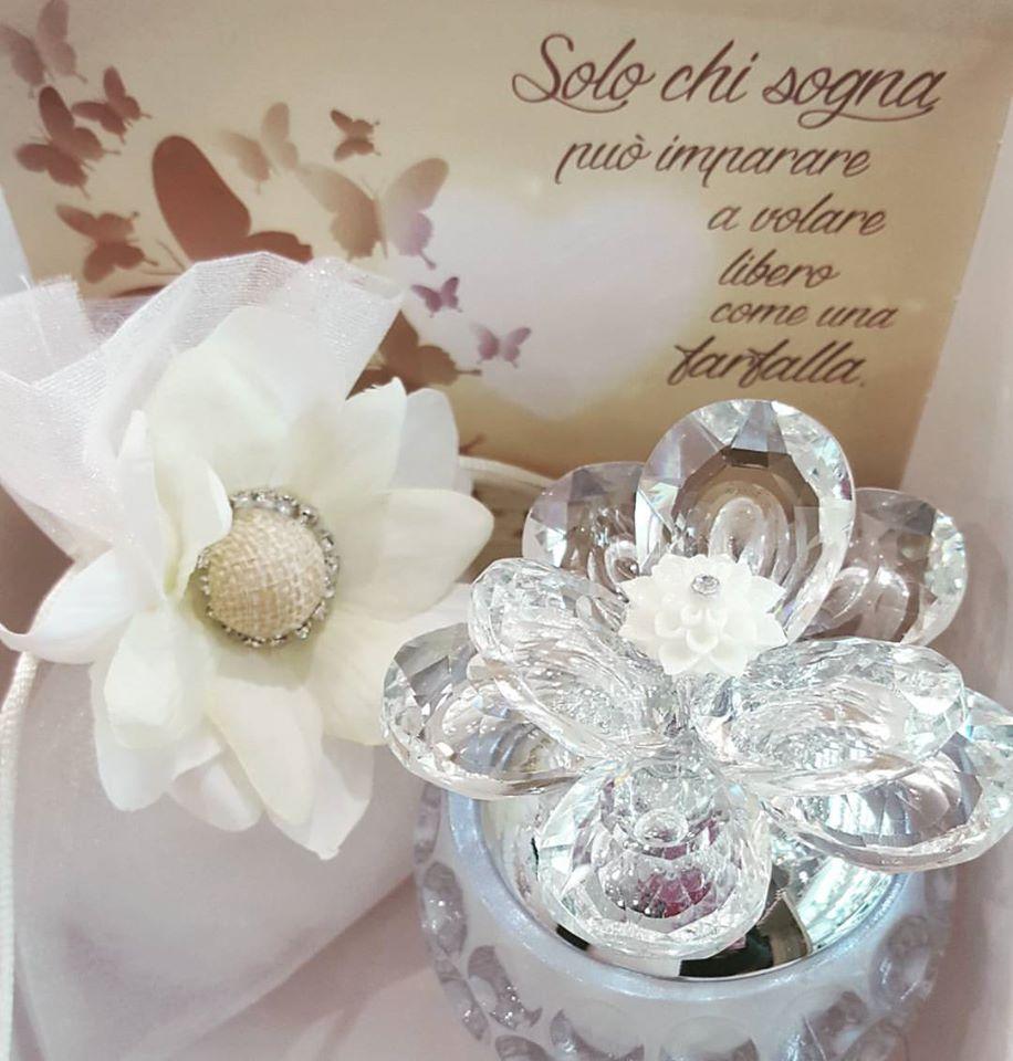 fiore in swarovski