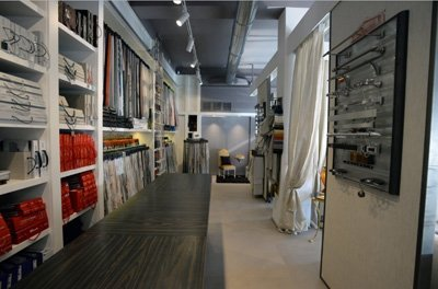 Tappezzeria Chellini Design & Decor a Firenze_magazzino
