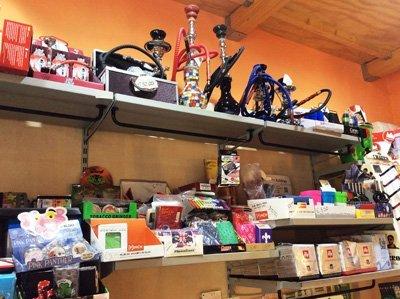 set di prodotti tabaccheria