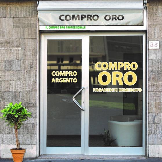 entrata del negozio COMPRO ORO