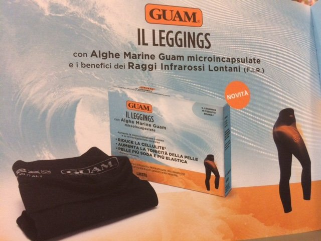 leggings con Alghe Marine Guam microincapsulate