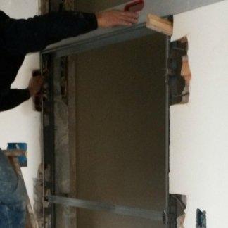 costruzione di una porta