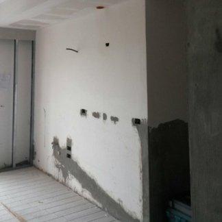 un muro da imbiancare