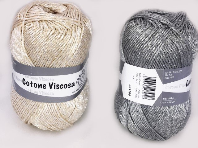Cotone Natural Viscosa
