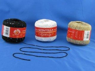 Filati Tre Sfere Cotone Natural Filo Di Scozia Cotone Per Uncinetto